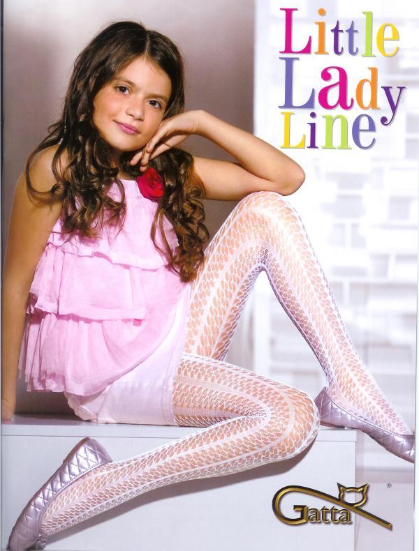 Gatta little lady detské pančuchové nohavice