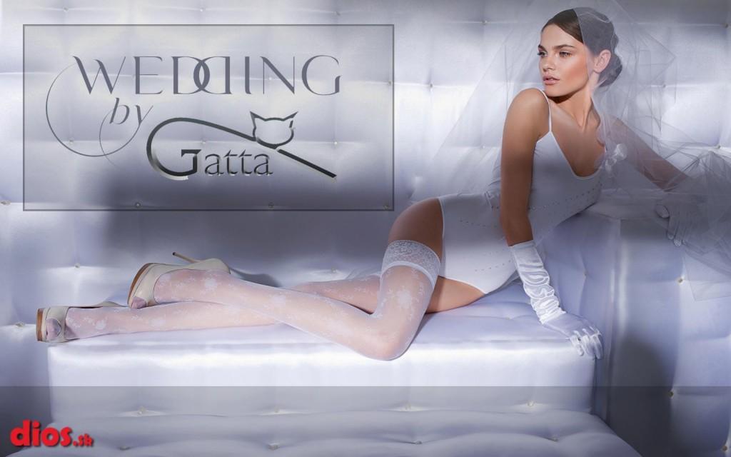 Gatta wedding svadobná kolekcia pančuchových nohavíc