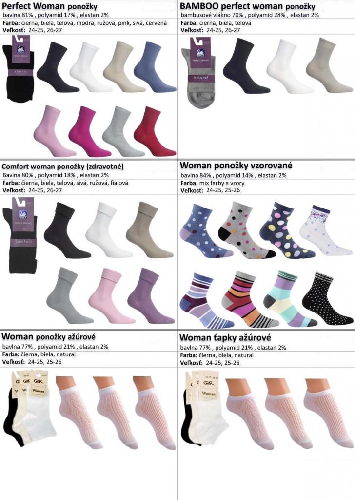 bambusove ponozky, vzorovane ponozky, damske tapky