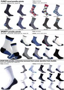 panske vzorovane ponozky, funky