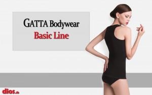 Gatta bodywear bezsvove spodne pradlo, podprsenky, nohavicky