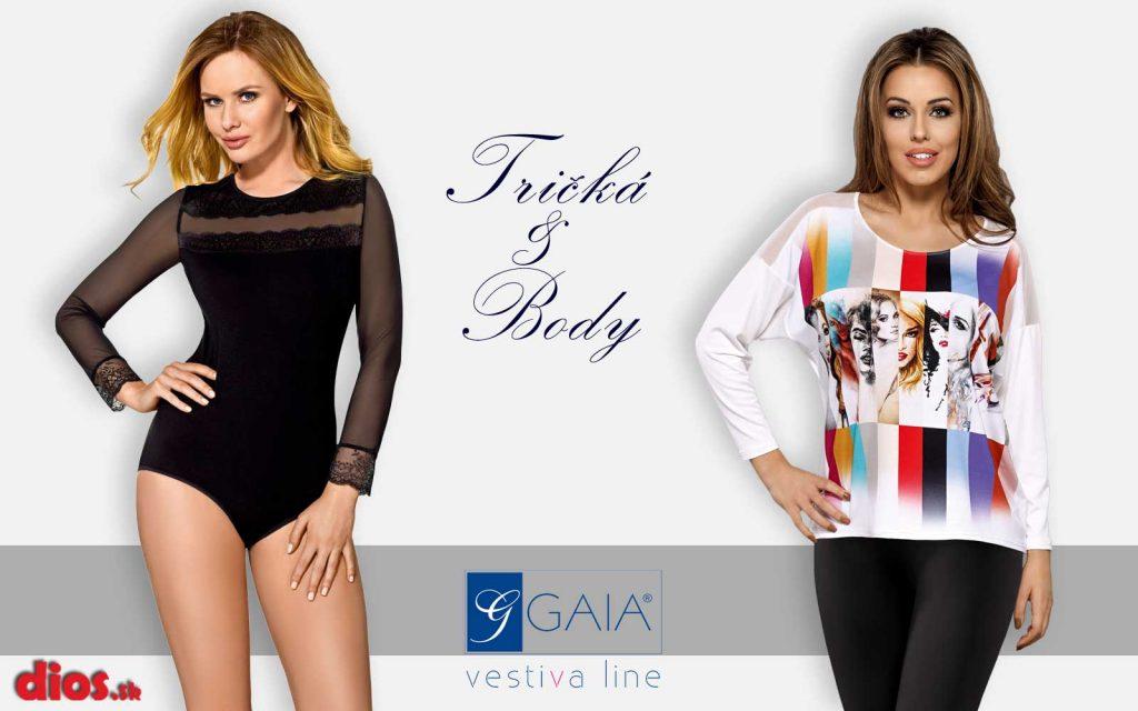 42edf7d1f Body GAIA dámska sexi spodná bielizeň, trendy tričká & body ...